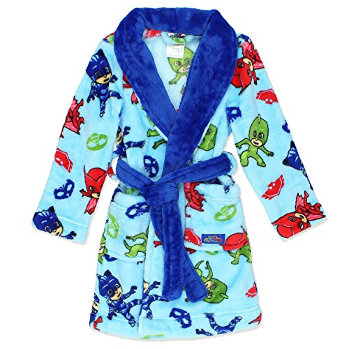 PJ Masks Boys' Bedtime Heroes Plush Robe