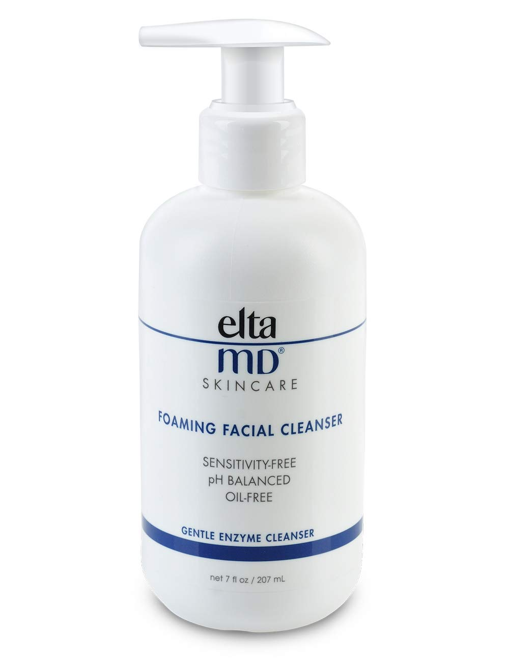 EltaMD Foaming Facial Cleanser, Gentle, Oil-free, Paraben-free, Dermatologist-Recommended Enzyme and Amino Acid Face Wash 7.0 oz by ELTA MD