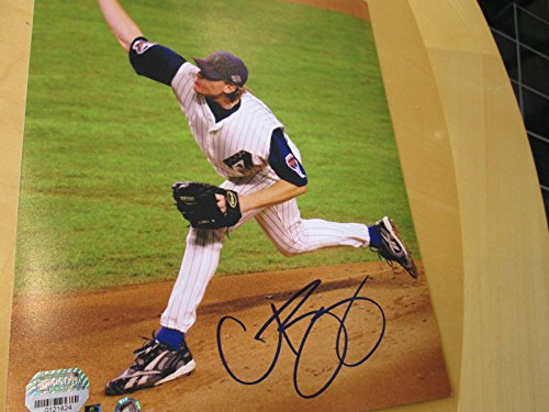 CURT SCHILLING Signed Diamonbacks 8X10 Baseball Photo -Mounted Memories Auth.