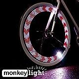 Monkey Light M210 Bike Light - 10 full color LEDs - 19 Patterns - Waterproof