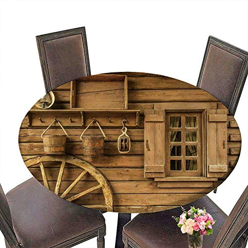 Used, PINAFORE Picnic Circle Table Detail of Old Wagon Wheel for sale  Delivered anywhere in Canada