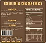 Freeze Dried Dairy - Healthy, Pure Dairy - Perfect For Camping, Cooking, Emergency Preparedness, And Snacking - By Valley Food Storage