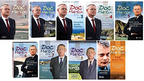 Doc Martin Ultimate Collection Seasons 1-8 + The Movies by