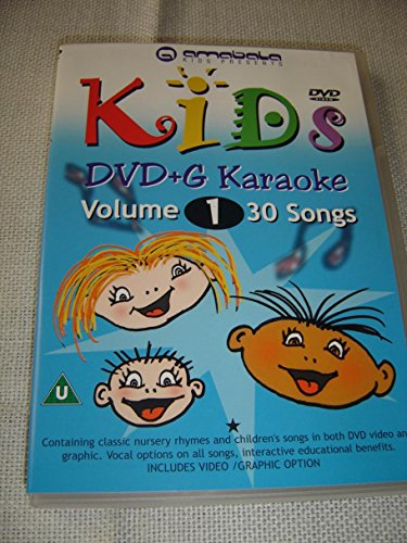 (Kids DVD+G Karaoke, Vol. 1 / 30 Songs / ENGLISH Audio / Classic Nursery Rhymes and Children Songs on DVD Video and Graphic / Vocal Options on All Songs [DVD Region 0 PAL])