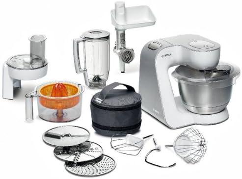 Bosch Robot Kitchen Máquina compacta MUM54240 – blanco/Silver + GARANTÍA 3 AÑOS: Amazon.es: Hogar