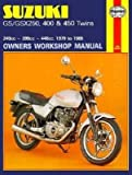 [(Suzuki GS and GSX 250, 400 and 450 Twins Owners Workshop Manual)] [Author: Chris Rogers] published on (September, 1988)