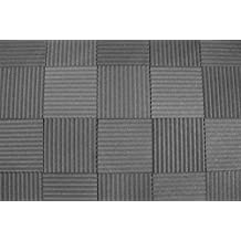 "Soundproofing Acoustic Studio Foam - Wedge Style Panels - 12""x12""x1"" Tiles - 6 Pack - DIY"