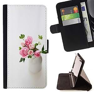 - Lighter Heart - - Monedero pared Design Premium cuero del tir?n magn?tico delgado del caso de la cubierta pata de ca FOR Apple Iphone 5C Funny House