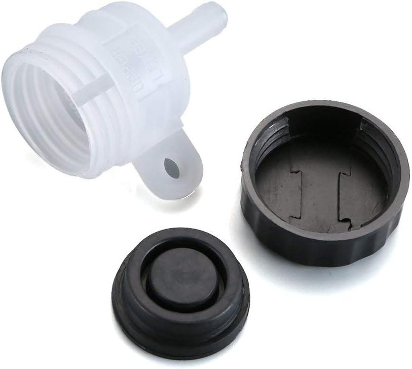 Gugutogo Motorcycle Foot Rear Brake Master Cylinder Tank Oil Cup Fluid Bottle Reservoir Car Accessories