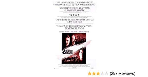 Three Degrees Of Separation So Close >> Amazon Com Six Degrees Of Separation Movies Tv