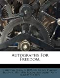 Autographs for Freedom, , 1247666069