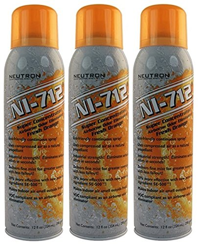 NI-712 Odor Eliminator, Orange Continuous Spray -3 PACK by NI (Image #1)
