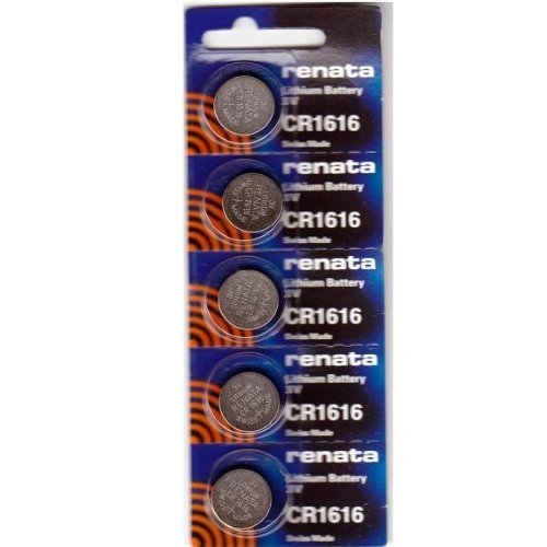 CR1616 Renata Watch Batteries 5Pcs. Watch battery cr1616   Compare Prices at Nextag