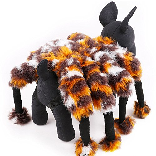 Sanfeng Pet Costume Spider For Cat / Dog - Perfect for Halloween & Costume Parties (M) -