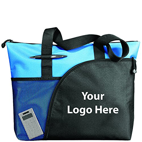 (Excel Sport Zippered Utility Business Tote - 48 Quantity - $7.80 Each - Promotional Product/Bulk with Your Logo/Customized)