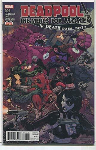 Deadpool- The Mercs For Money #1 NM Til Death Do Us Part 3 Marvel Comics LG2