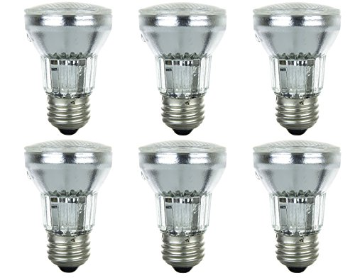 Pack of 6 45PAR16/FL 120V 45 Watt 45W Dimmable PAR16 Flood 120 Volt Halogen Par 16 Light Bulbs