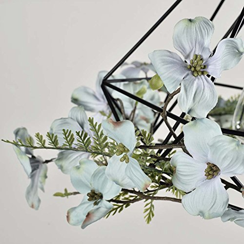 GAOLIQIN Iron Pendant Lamp, Creative Personality Simulation Plant Art Pendant Light,Theme Concert Bar Window Restaurant Decoration Chandelier (Size : 40CM) by GAOLIQIN (Image #5)