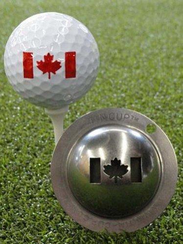 Tin Cup Oh Canada Golf Ball Custom Marker Alignment Tool