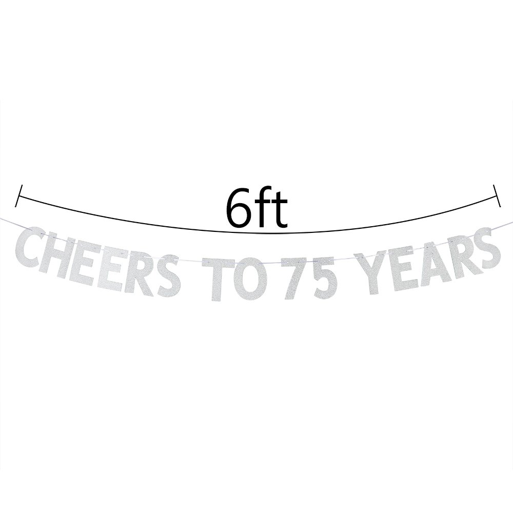 WeBenison Cheers To 75 Years Banner
