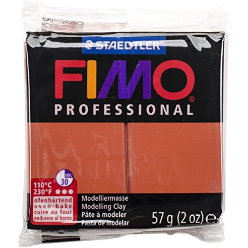 STAEDTLER Fimo Professional Soft Polymer Clay, 2 oz, Terra ()