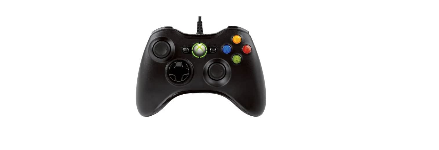 Amazon.com: Microsoft Xbox 360 Wired Controller: MICROSOFT: Video Games