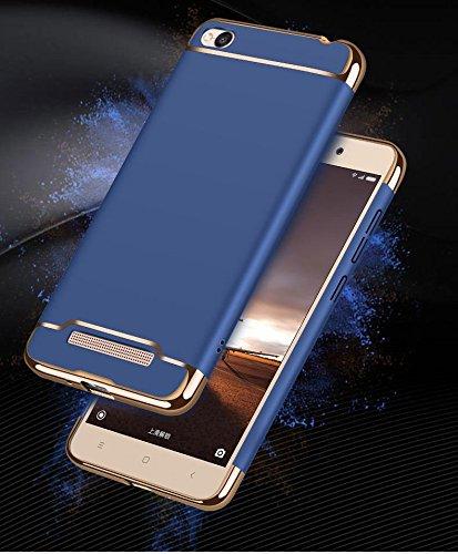 free shipping 21eb2 59620 Cocose Slim Armor Full Body 360 Degree Protection Back Cover for Mi Redmi  5A(Blue)