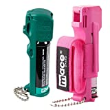 Mace Jogger Pink Pepper Spray Model and Mace Muzzle Dog Pepper Spray Bundle - Lot of 2