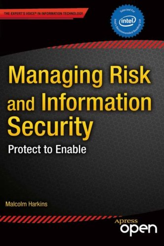 Managing Risk and Information Security: Protect to Enable Front Cover
