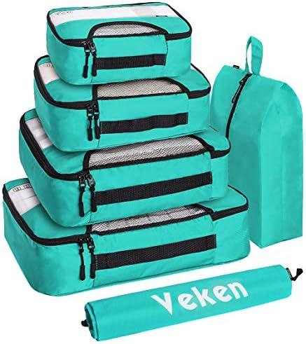 Veken Packing Luggage Organizers Laundry product image