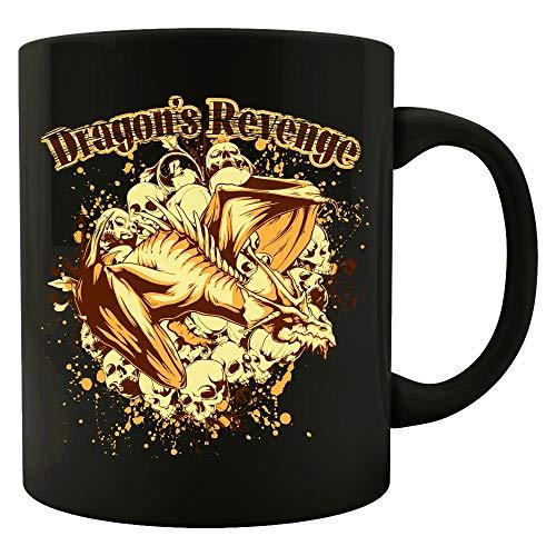 Dragons Revenge - Skull Crypt - Colored Mug