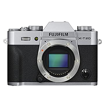 Fujifilm X-T20 Mirrorless Digital Camera Silver (Body Only)