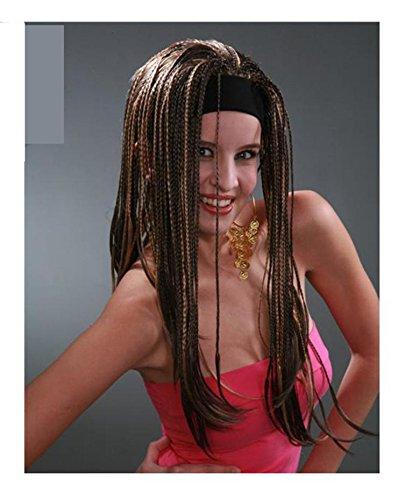 Pulsera pura de DZW que teje las pelucas, sintéticas Trenzó las pelucas delanteras del cordón