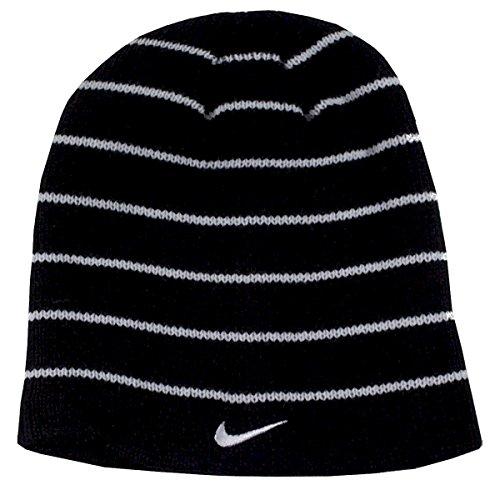 Cap Reversible Beanie Black (Nike Boys One Size 8 20 Nike Swoosh Reversible Beanie Black  White 8 20)