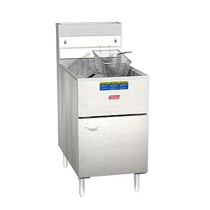 PITCO frialator 65S economía 60 – 80 lb Natural Gas freidora