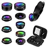 Best Smartphone Camera Lenses - Phone Camera Lens Kit, 9 in 1 Zoom Review