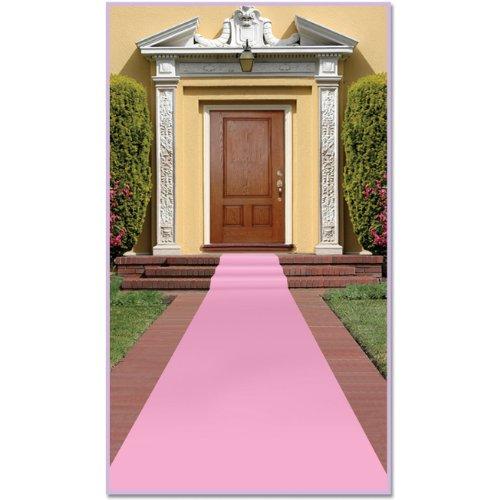 Beistle Carpet Runner 24in Pink