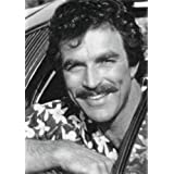 TOM SELLECK - Original Art Print (LARGE A3 - Signed by the Artist) #js002
