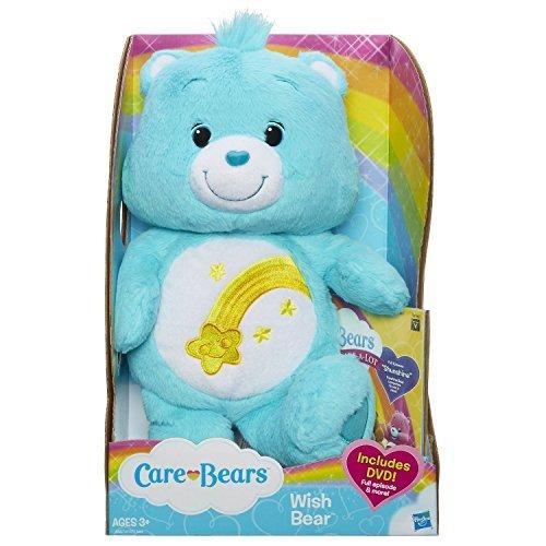 Care Bears Wish Bear 12 Inch Plush with bonus DVD]()