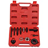 gm alternator pulley removal tool - Qbace 12PCS Pulley Puller And Installer Set
