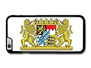 """AMAF ? Accessories Bavarian Flag Bavaria Coat Of Arms Flagge Bayern case for iPhone 6 Plus (5.5"""")"""