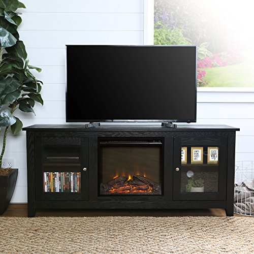 60 fireplace tv stand - 2