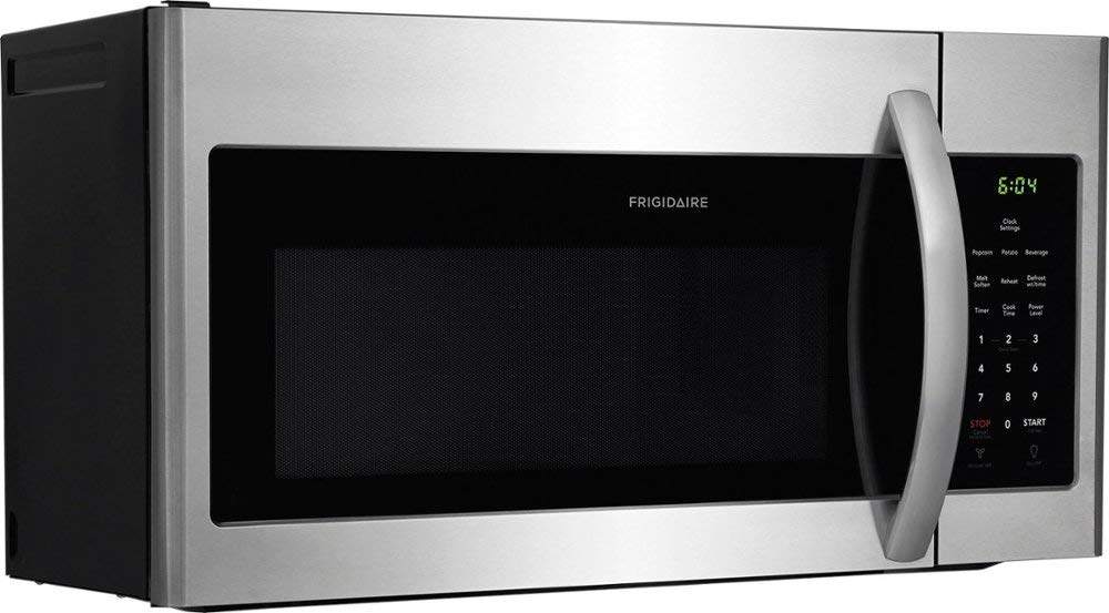 Frigidaire - 1.6 Cu. Ft. Over-the-Range Microwave - Stainless steel-Model:FFMV1645TS by Mentos19x