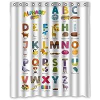 Custom ABC Alphabet resistente al agua tela