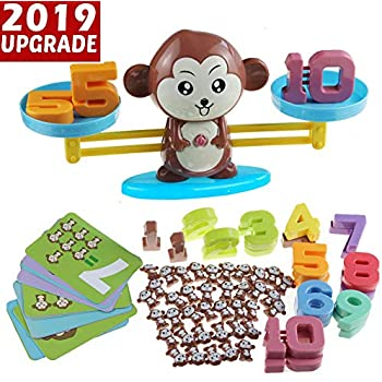 Amazon.com: Monkey Balance Cool Math Game STEM Montessori