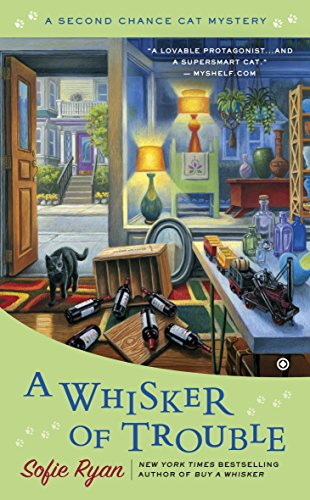 A Whisker of Trouble (Second Chance Cat Mystery Book 3)