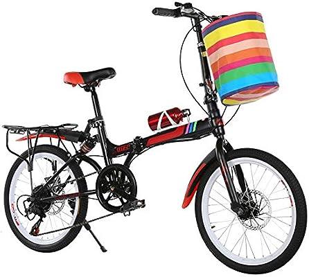 KXDLR Al Aire Libre Viajes De Montaña De Bicicletas Plegables, 20 ...