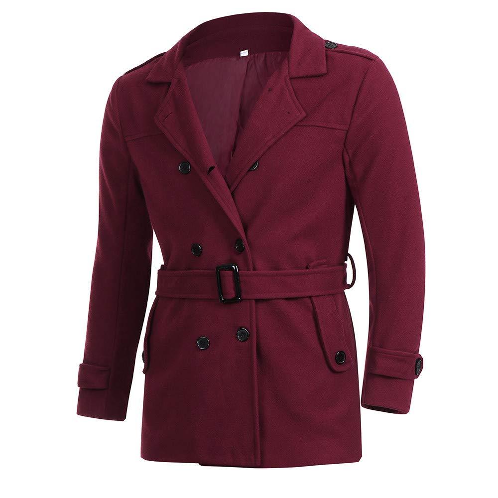 IMJONO M/änner schlanke Passform Anzug Top Jacket
