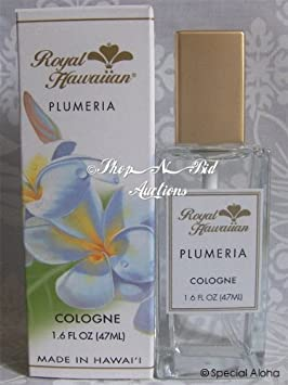 Royal Hawaiian Plumeria Cologne Mist 1.6 oz Note NEW Size 1.6oz 47ml