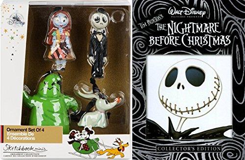 Lord Ring 0 (Disney Ornament The Nightmare Before ChristmasMovie & Tree Hanging collection Jack Skellington / Zero / Sally / Oogie Boogie Sketchbook Minis Tim Burton)